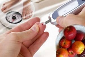 Измерение уровня сахара при помощи глюкометра