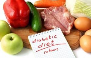 разрешенных групп продуктов при сахарном диабете