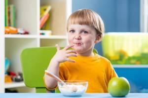 Особенности диеты для детей