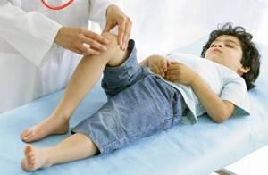 Гигрома подколенной ямки у ребенка