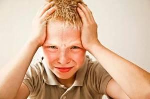 Поражение мозга у подростков